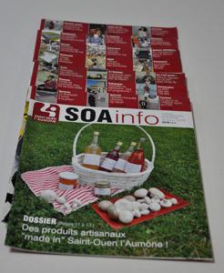 SOA Info, le journal mensuel de la ville