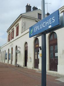 La gare d'Épluches