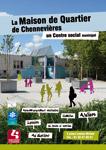 Couverture plaquette Maison de quartier de Chennevières