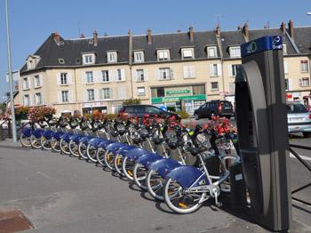 Station Vélo2 située place Carnot